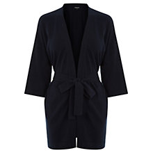 Buy Warehouse Belted Cardigan, Navy Online at johnlewis.com