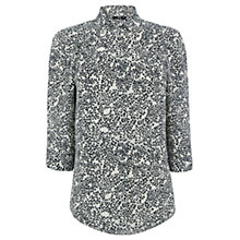 Buy Oasis Graphic Heart Print Shirt, Multi Online at johnlewis.com