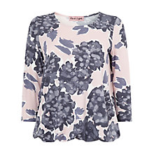 Buy Phase Eight Darota Print Top, Blue/Pink Online at johnlewis.com