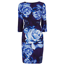 Buy Coast Farida Petite Dress, Blue Online at johnlewis.com
