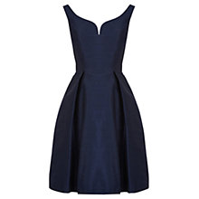 Buy Coast Giuglia Dress, Navy Online at johnlewis.com