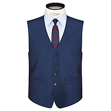 Buy Daniel Hechter Tonic Tailored Waistcoat, Bright Indigo Online at johnlewis.com
