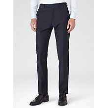 Buy Reiss George Slim Fit Suit Trousers, Navy Online at johnlewis.com