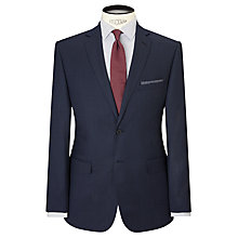 Buy Daniel Hechter Birdseye Tailored Suit Jacket, Airforce Online at johnlewis.com