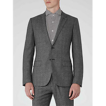 Buy Reiss Bronte Wool Melange Slim Fit Suit Jacket, Grey Online at johnlewis.com