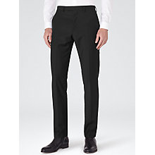 Buy Reiss George Slim Fit Suit Trousers, Black Online at johnlewis.com