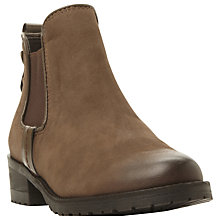 Buy Steve Madden Graaham Pull On Chelsea Boot, Brown Nubuck Online at johnlewis.com