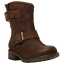 Buy Steve Madden Denmark Quilted Calf Boots Online at johnlewis.com