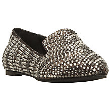 Buy Steve Madden Showey Diamante Embellished Slipper Cut Shoe Online at johnlewis.com