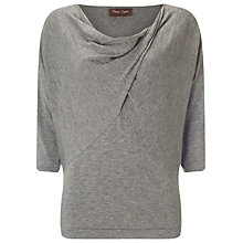 Buy Phase Eight Branna Twist Knit Top, Grey Online at johnlewis.com
