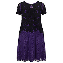 Buy Studio 8 Kendra Tapework Dress, Purple Online at johnlewis.com