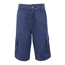 Buy John Lewis Boys' Cargo Shorts , Navy Online at johnlewis.com