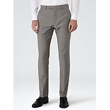 Buy Reiss George Slim Fit Suit Trousers, Light Grey Online at johnlewis.com