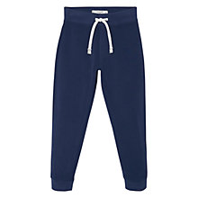Buy Mango Kids Boys' Jogging Trousers, Navy Online at johnlewis.com