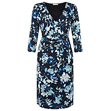 Buy Kaliko Printed Jersey Dress, Multi Blue Online at johnlewis.com