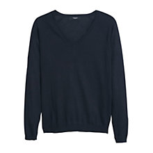Buy Mango V-Neck Sweater Online at johnlewis.com