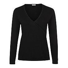 Buy Planet Crossover Knit Jumper, Black Online at johnlewis.com