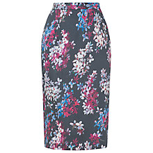 Buy L.K. Bennett Debra Printed Pencil Skirt, Multi Online at johnlewis.com