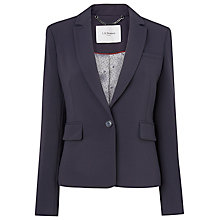 Buy L.K. Bennett Cleora Blazer, Blue Online at johnlewis.com
