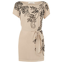 Buy Kaliko Bead Embellished Tunic Top, Light Neutral Online at johnlewis.com