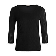 Buy Planet Textured Top Online at johnlewis.com