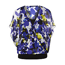 Buy Planet Bloom Pink Blouse Top, Purple/Multi Online at johnlewis.com