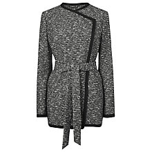 Buy L.K. Bennett Dumonde Jacket, Black / Cream Online at johnlewis.com