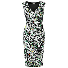 Buy Planet Animal Print Dress, Green Online at johnlewis.com