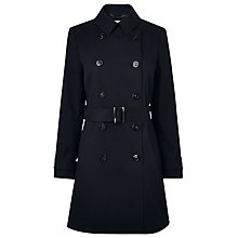 Buy L.K. Bennett Boston Trench Coat, Blue Online at johnlewis.com
