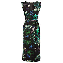Buy Oasis Tropical Print Midi Dress, Multi Online at johnlewis.com
