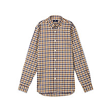 Buy Aquascutum Devonshire Club Check Shirt, Vicuna Online at johnlewis.com