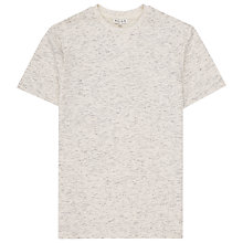 Buy Reiss Wheeler Sweat T-Shirt, Ecru Online at johnlewis.com