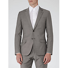Buy Reiss George Slim Fit Suit Jacket, Light Grey Online at johnlewis.com