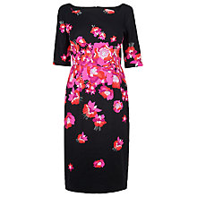 Buy L.K. Bennett Lasana Printed Dress, Black Online at johnlewis.com