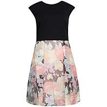 Buy Ted Baker Abiba Colourful Burnout Skirt Dress, Pink Online at johnlewis.com
