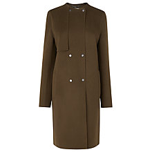 Buy L.K. Bennett Wool Cashmere Mayfair Coat, Olive Online at johnlewis.com