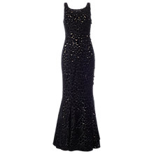 Buy Phase Eight Collection 8 Opera Velvet Dress, Black Online at johnlewis.com