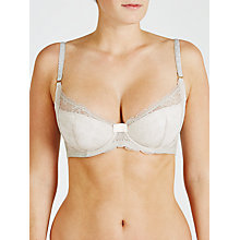 Buy COLLECTION by John Lewis Scarlet Balcony Bra, Silver Lilac/Soft Blush Online at johnlewis.com