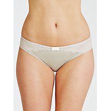 Buy COLLECTION by John Lewis Scarlet Lace Briefs, Silver Lilac/Soft Blush Online at johnlewis.com