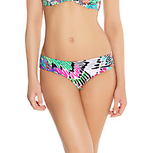 Buy Freya Mardi Gras Carnival Hipster Bikini Briefs, Multi Online at johnlewis.com