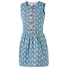 Buy Fat Face Girls' Matilda Pineapple Dress, Blue Online at johnlewis.com