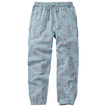 Buy Fat Face Flamingo Beach Trousers, Blue Online at johnlewis.com