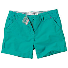 Buy Fat Face Girls' Brooke Chino Shorts, Green Online at johnlewis.com