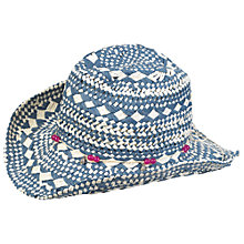 Buy Fat Face Girl's Cowboy Hat Online at johnlewis.com