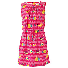 Buy Fat Face Girls' Maisy Fruit Print Dress, Pink Online at johnlewis.com