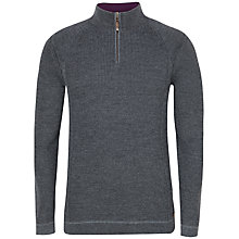 Buy Ted Baker Hardmun Zip Neck Jumper Online at johnlewis.com