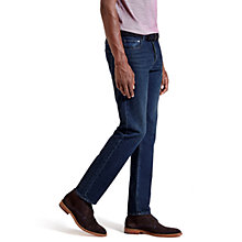Buy Ted Baker Sigon Straight Jeans, Rinse Denim Online at johnlewis.com