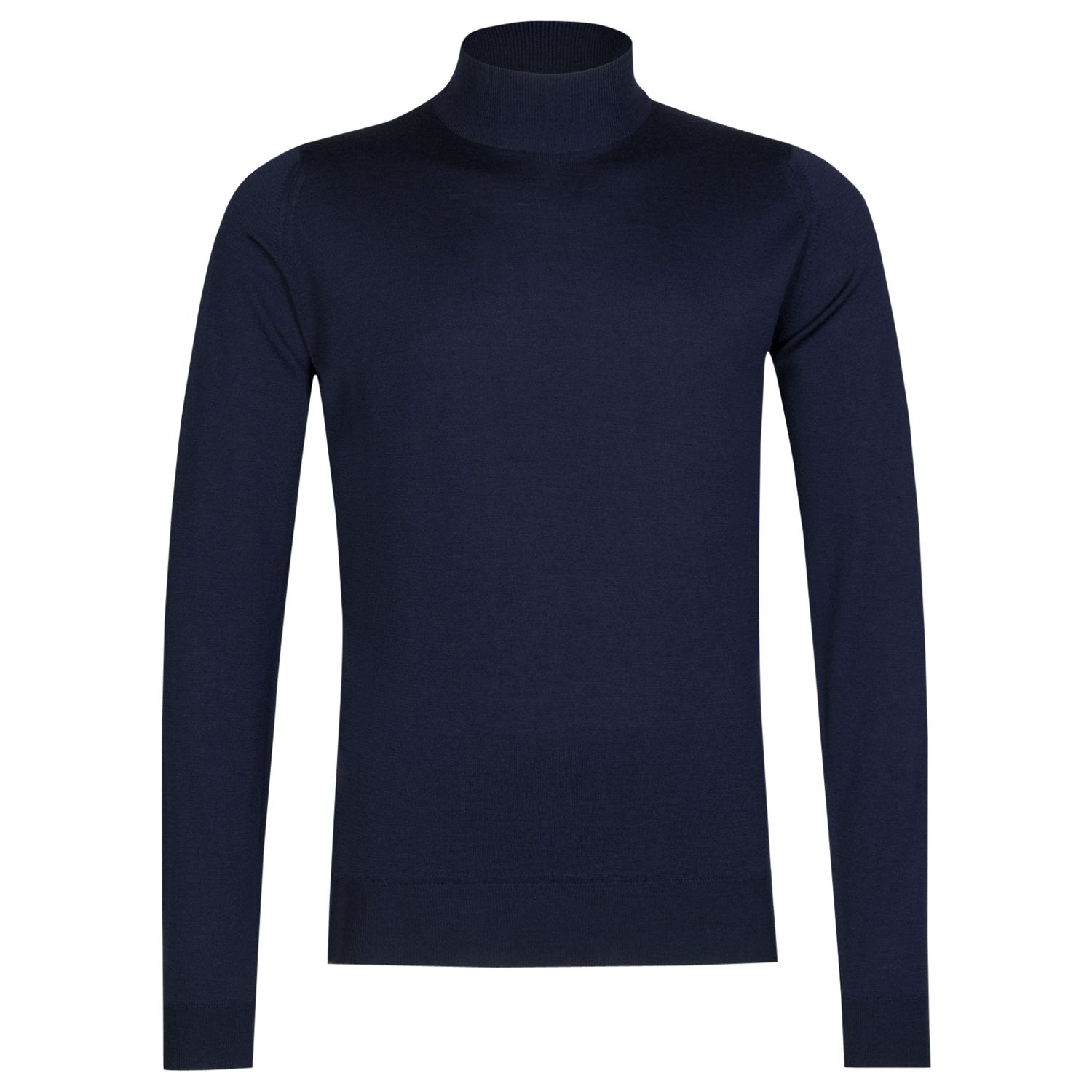 John Smedley John Smedley Harcourt Turtle Neck Jumper, Midnight