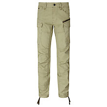Buy G-Star Raw Rovic Field Tapered Trousers, Rustic Green Online at johnlewis.com