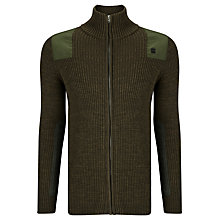 Buy G-Star Raw Effo Cardigan Knit, Arsenic/Combat Online at johnlewis.com